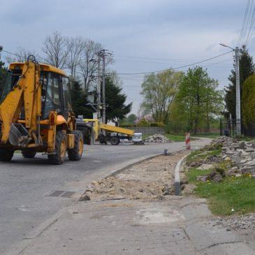 Ruszył drugi etap remontu drogi w Grzawie