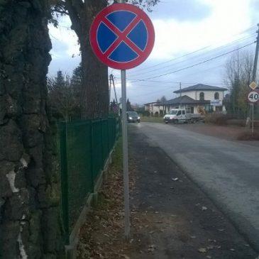 UWAGA zmiana organizacji ruchu na ul. Zimowej w Goczałkowicach Zdroju