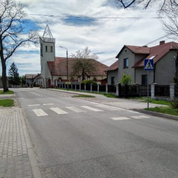 Nowe przejście dla pieszych w Czarkowie!